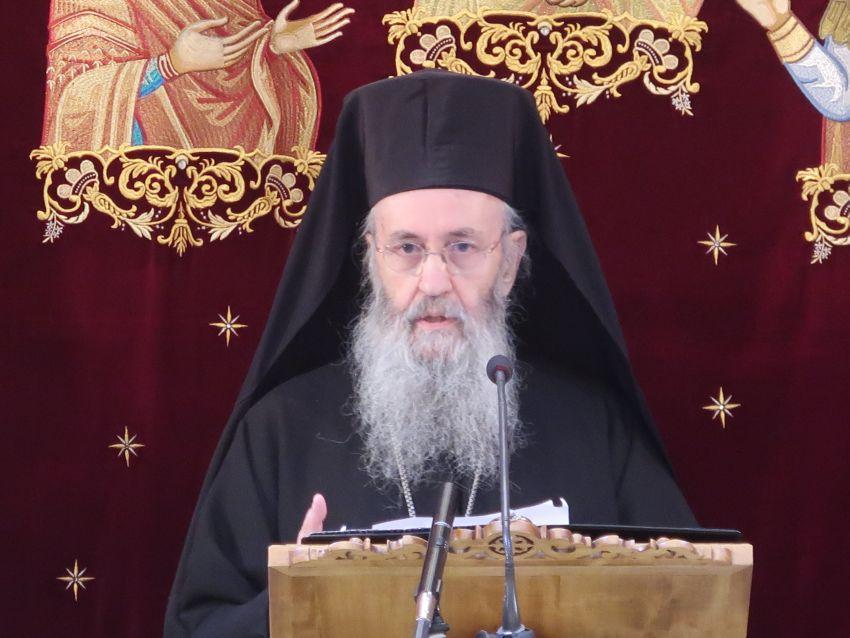 """Ομιλία του Μητροπολίτη Ναυπάκτου κ.κ. Ιεροθέου : """"Το μυστήριο της Θεοεγκαταλείψεως"""" (Βιντεο)"""
