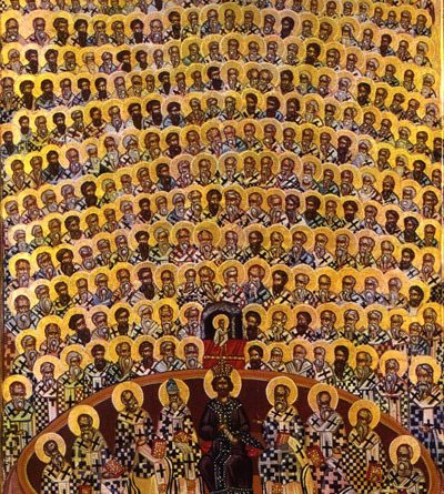 του π. Ραφαήλ Μισιαούλη : των τριακοσίων δέκα και οκτώ (318) Πατέρων που έλαβαν μέρος στην Α΄ Οικουμενική Σύνοδο