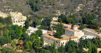 Κύπρος Πάφος : Ιερά Βασιλική και Σταυροπηγιακή Μονή του Αγίου Νεοφύτου του Eγκλείστου (Βίντεο)